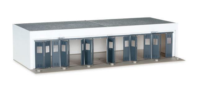 Herpa 745819 Conjunto de construcción Garaje, longitud 260 mm x ancho 125 mm x altura 60 mm