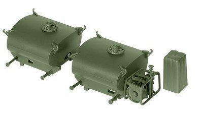 Roco miniTank 05071 Tanque de combustible portátil y unidad de bomba, BW
