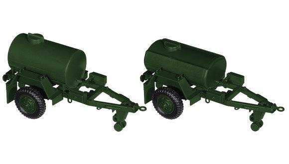 Roco miniTank 05163 Remolque de tanque de agua M 108 A1 y M 149 A1