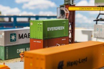 Faller 180821 20' Container EVERGREEN