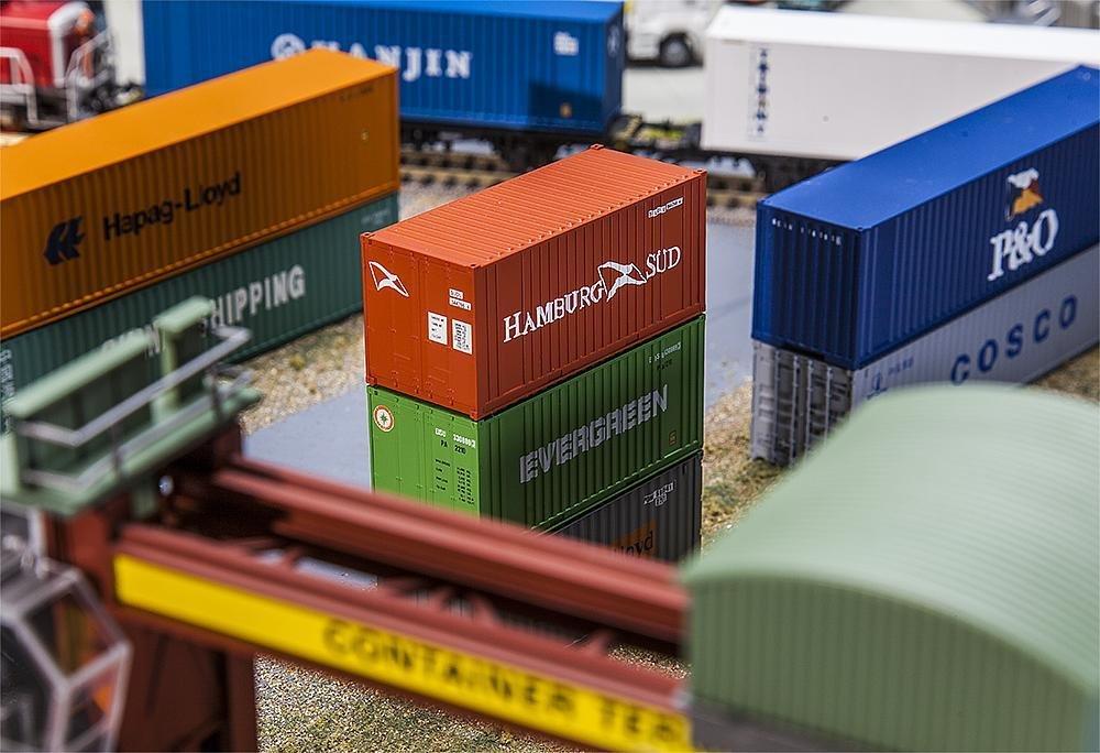 Faller 180822 20' Container HAMBURG SÜD