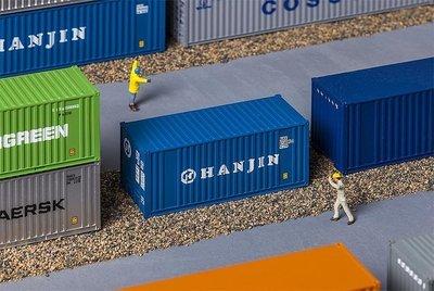 Faller 180825 20' Container HANJIN