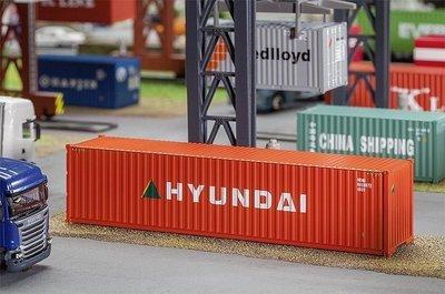 Faller 180849 40 'Contenedor Hi-Cube HYUNDAI