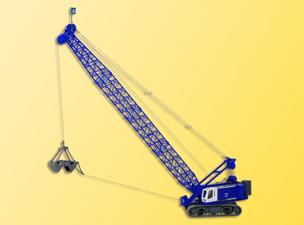 Kibri 13036 Excavadora de cable H0 LIEBHERR 883 con capturador de ingeniería civil