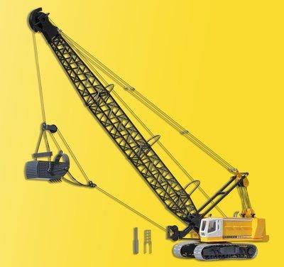 Kibri 11254 Excavadora de cable H0 LIEBHERR con el cubo de la red de arrastre