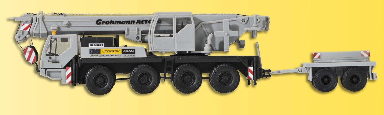Kibri 13037 H0 LIEBHERR LTM 1050/4 con remolque de lastre