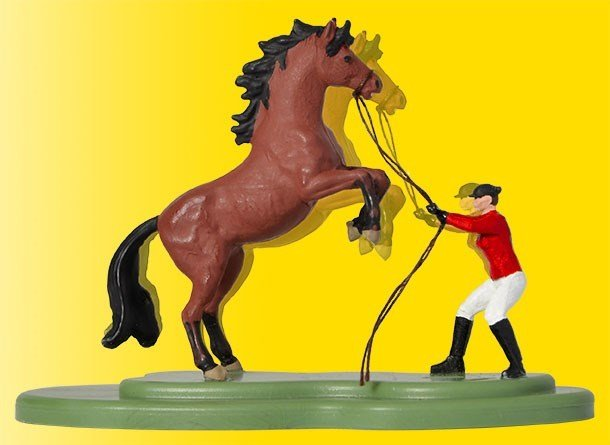 Viessmann 1591 H0 encabritado caballo, moviéndose
