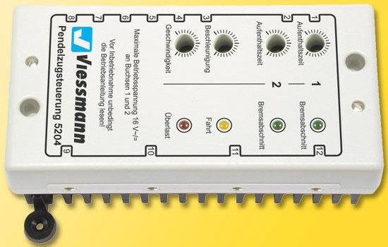 Viessmann 5204 Módulo de control del servicio de transporte para los trenes de CA