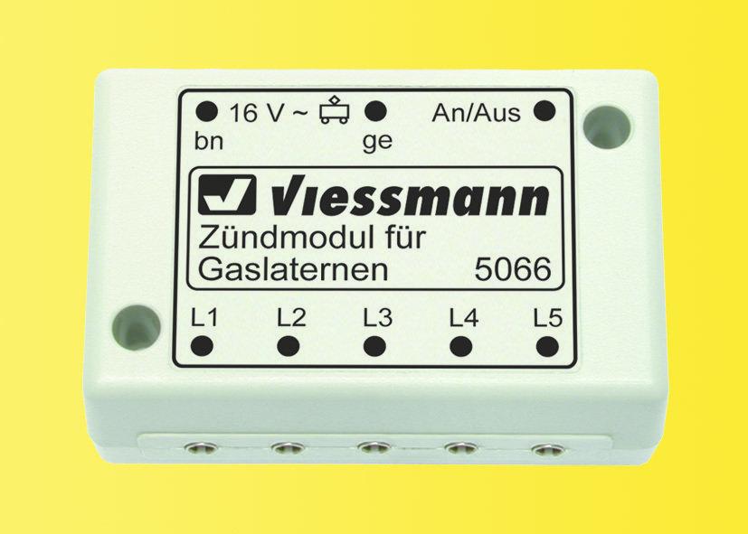 Viessmann 5066 Módulo de encendido para lámparas de gas