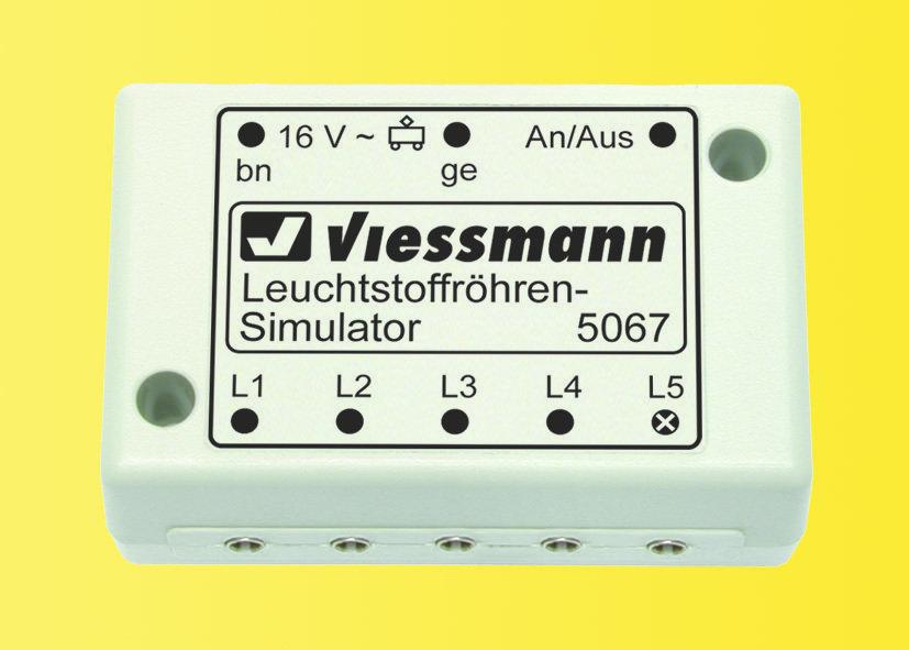 Viessmann 5067 Simulador Lámpara fluorescente
