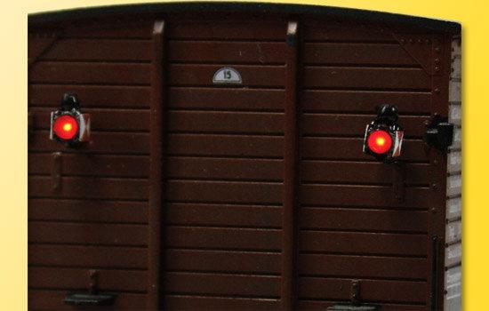 Viessmann 5069 Linternas traseras H0 tren con LED, 2 piezas