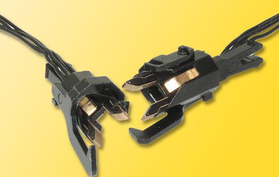 Viessmann 5071 H0 acopladores conductoras, de 4 polos, 2 piezas