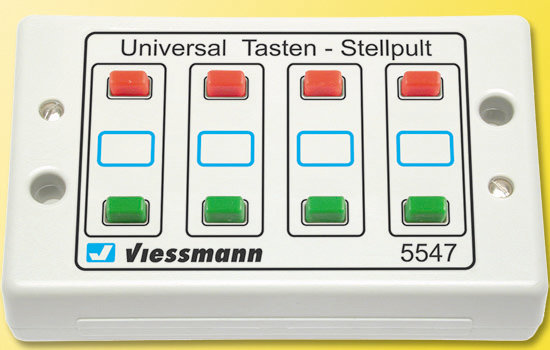 Viessmann 5547 Botonera de dos aspectos