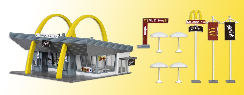 Vollmer 43634 Restaurante de McDonald H0 con McDrive