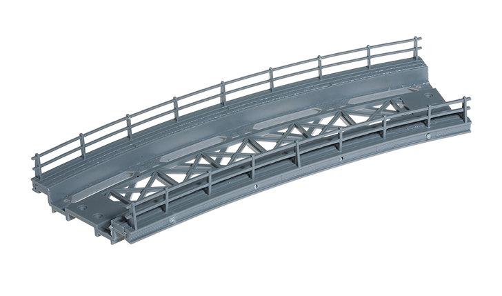 Noch 21350 Puente calzada, curvas, radio de 360 mm