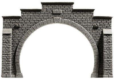 Noch 58052 Boca de túnel, doble via, 21 x 14 cm