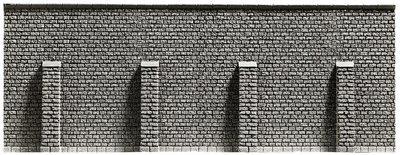 Reserva anticipada Noch 58057 Muralla con soportes, extra larga, 66,8 x 12,5 cm