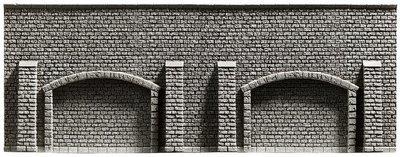 Noch 58058 Muralla de Arcadas, 33,4 x 12,5 cm