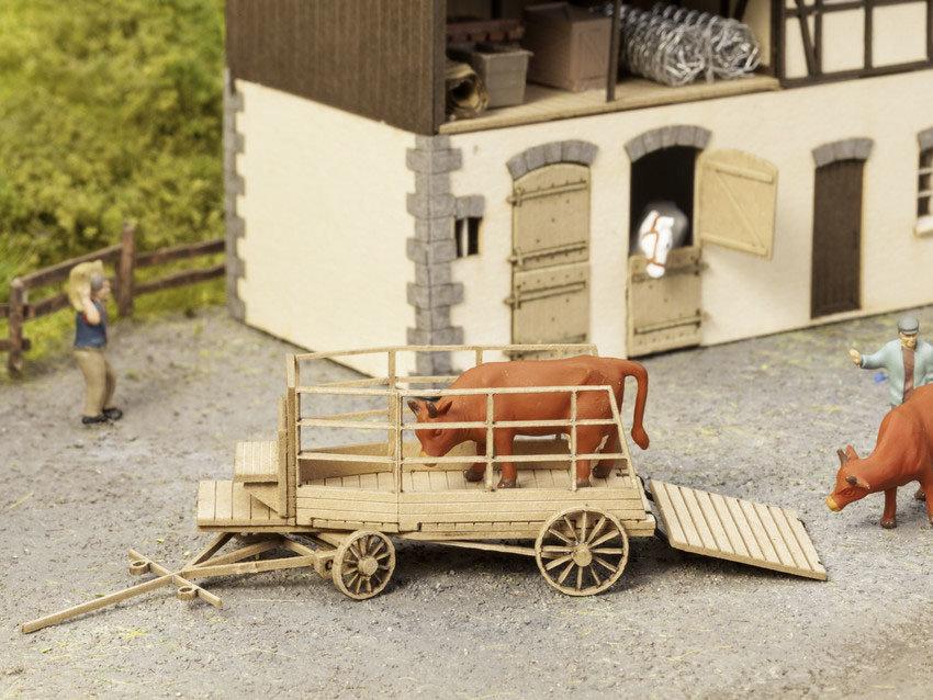 Noch 14245 Carreta transporte de ganado (sin figuras)