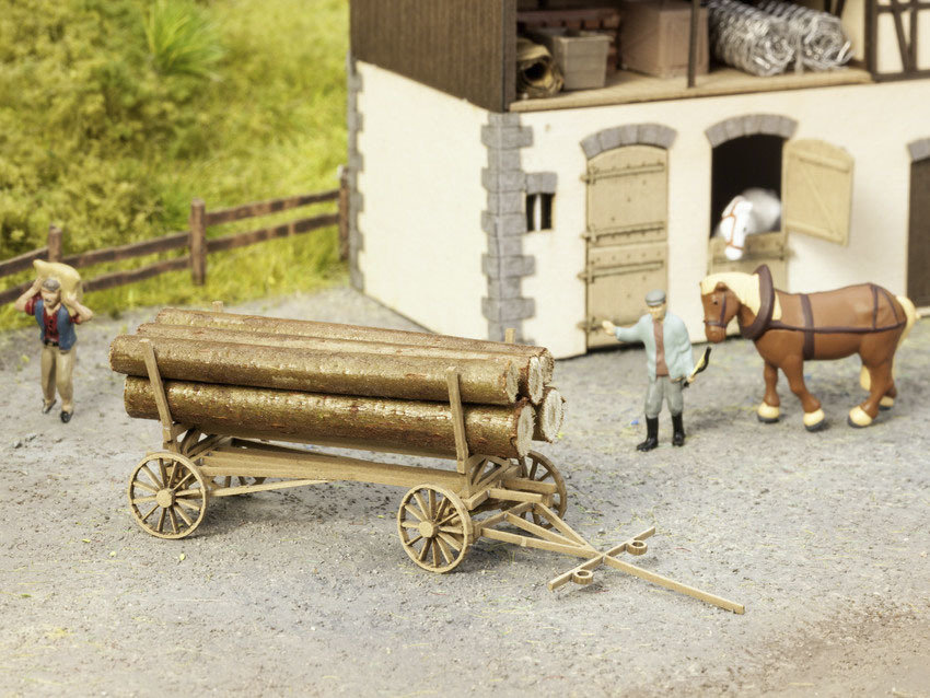 Noch 14243 Carreta para madera (sin carga)