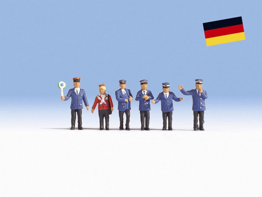 Noch 36265 Personal ferroviario alemán