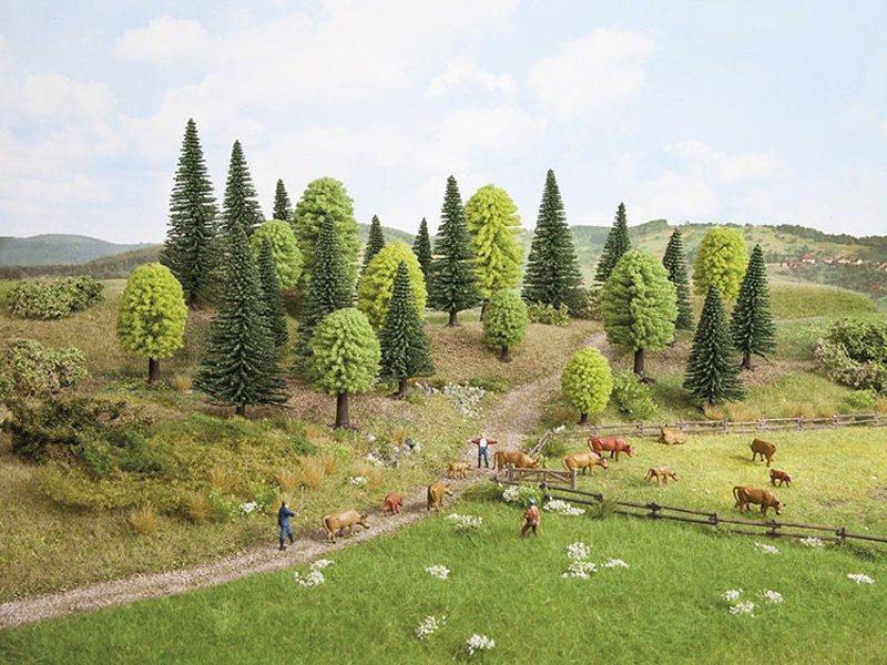 Noch 26811 Bosque Mixto, 25 árboles, 5 - 14 cm de alto