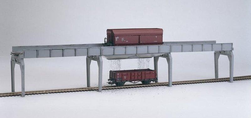 Piko H0 61122 H0 Descarga Puente de Hopper Coches