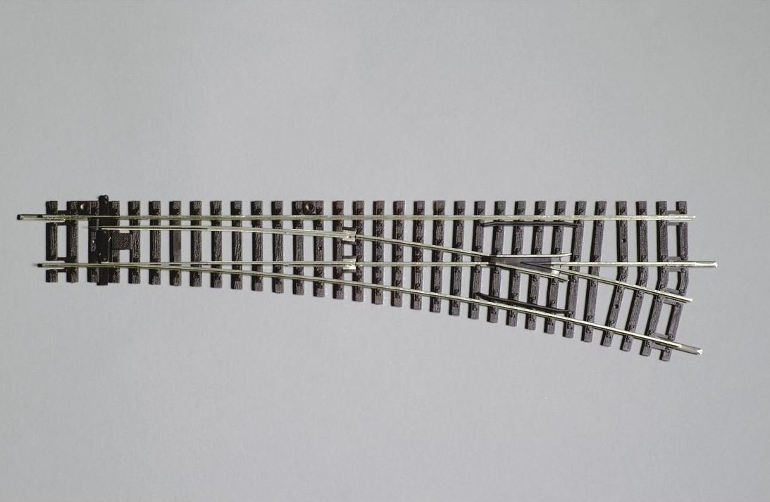 Reserva anticipada Piko 55221 H0 Interruptor derecho  R9 / 239mm