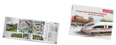 Piko 99853 H0 PIKO H0 A-Track Layout libro, Alemán