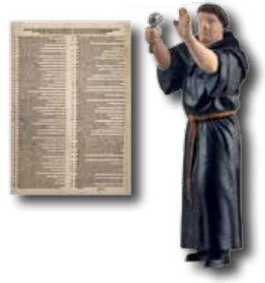 Viessmann 1595 H0 Martín Lutero, en movimiento