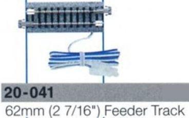 "Kato Unitrack N 20-041 Carril alimentador de 62 mm (2 7/16 "") (1 pieza)"