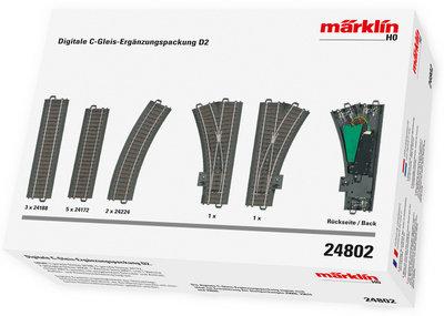 Reserva anticipada Märklin 24802 Digital C Pista D2 Extension Set