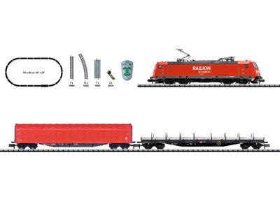"Trix 11145 Minitrix BR 185.2 Caja de iniciación en digital ""Tren mercancías"""