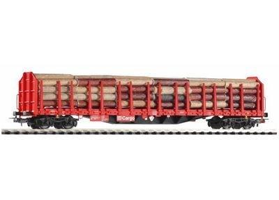 Piko 54339 H0 Carro de madera para troncos Roos-t642 con carga de madera