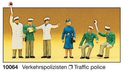 Preiser 10064 H0 - policías de tráfico