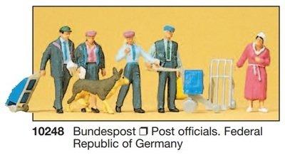 Preiser 10248 H0 - Federal Post Office 1990