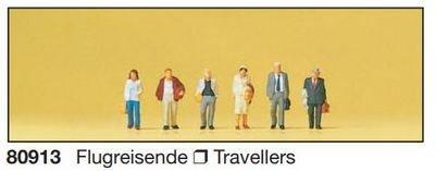 Preiser 80913 1:200 - pasajeros de avión