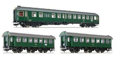 """Fleischmann 566484 H0 3-pc. Establecer """"tren de cercanías Murnau - Oberammergau"""", DB"""