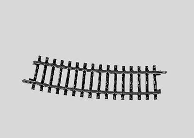 Märklin 02233 H0 Vía curva r424.6mm 15°