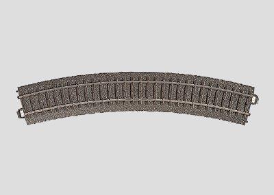 Märklin 24230 via curva R2 = 437,5 mm/30°