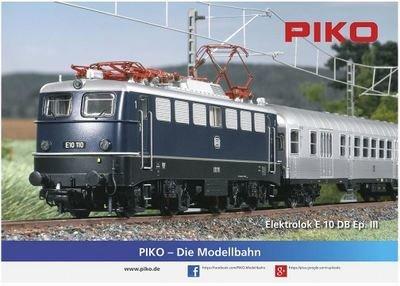 Cartel PIKO E 10 (51730) doblado