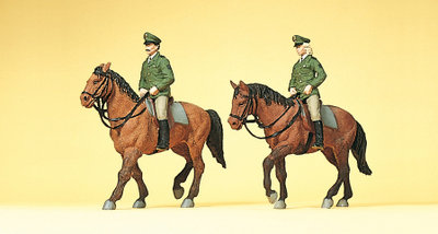 Preiser 10390 H0 - Policía montada. Alemania