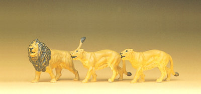 Preiser 20379 H0 - leones