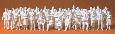 Preiser 68290 1:50 - 60 figuras sin pintar. equipo