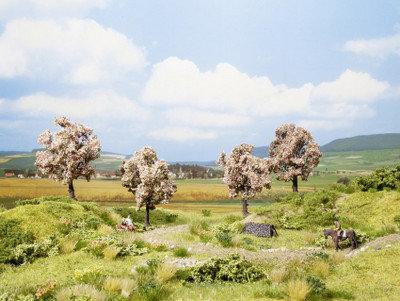 NOCH 21003 profesional 4x árbol frutal en flor, 8cm