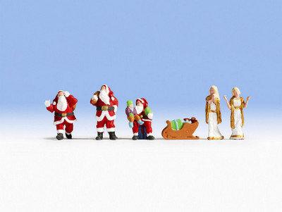 Noch 15920 Papá Noel y Ángeles