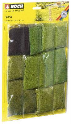 Reserva anticipada Noch 07066 Surtido de fibras de hierba, cortas