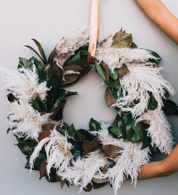 Golden Harvest Wreath