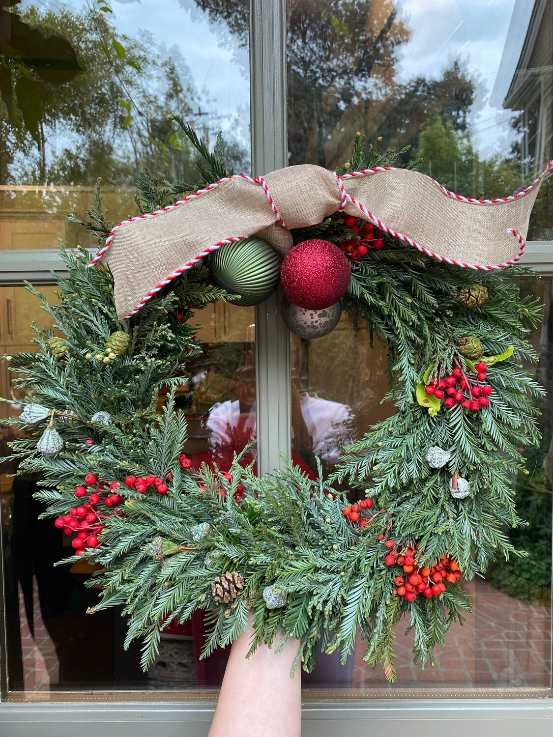 Tailored Trimmings Wreath