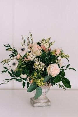 Seasonal Floral Arrangement with vase